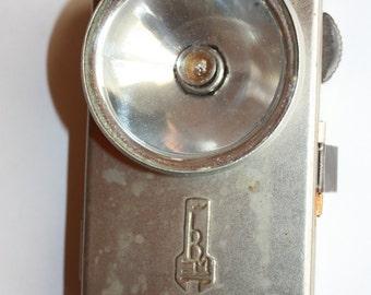 Work-VITEBSK-Pocket Flashlight Military Russian Vintage Rare USSR Original 1954 year-Treasury Item-Industrial Retro Chic Decor-Freaking Dope