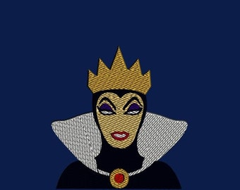 The Evil Queen from Snow White  - Digitized Embroidery File