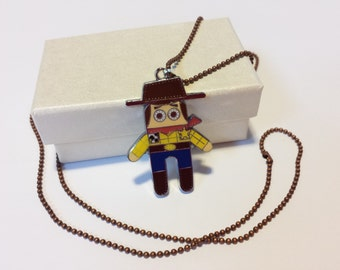 Sale! cute cowboy Necklace