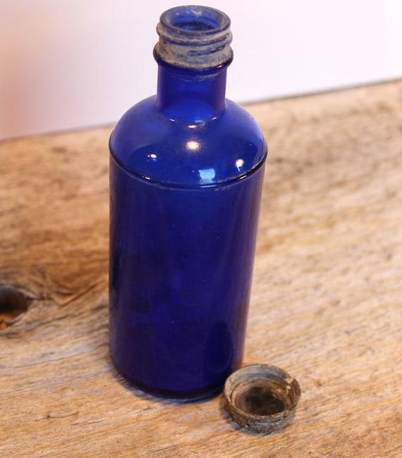 how to break bottom of glass bottle