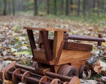 Wooden Farm Combine