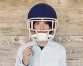 Stiff Felt Football Helmet Prop | Choose from 9 Colors | Football Prop | FELT | Football Party Prop | Football Birthday