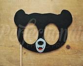 Felt Black Bear Mask Prop | Woodland Creatures Mask | Little Bear Mask | Brave | Woodland Animal Mask