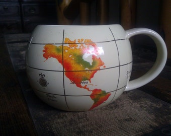 World Map Cup  / FTD Planter