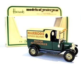Matchbox 1922 Ford Model T Harrods Express Delivery Truck Y-12 MIB 1978