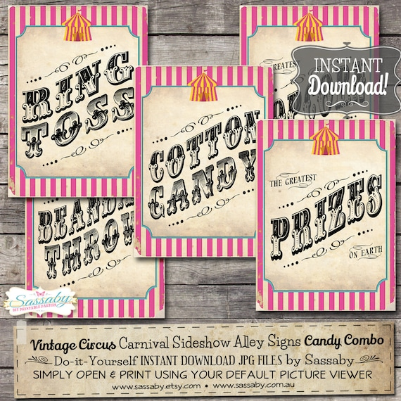 Old Fashion Candy Picture Signs 52