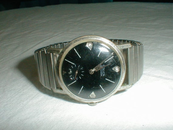 mens gruen watch vintage gruen watch works excellent mens. Black Bedroom Furniture Sets. Home Design Ideas