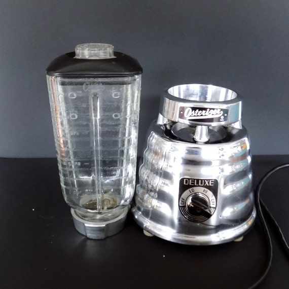 Vintage Osterizer Deluxe 2 Speed Chrome Beehive Blender Mod
