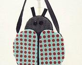 Ladybug purse, girls purse, goodie bag, novelty purse, treat bag, party favor, LB17