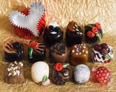 Big Hole Bracelet Beads - Gourmet Chocolates 4Keeps - U Pick Candy Shop - Handmade SRA Made to Order - Shown Unlined to have Sterling Silver