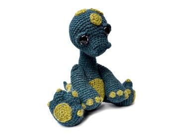 Dinosaur Diplodocus Amigurumi Crochet Pattern PDF Instant Download - Monty