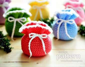 Crochet Pattern - Mini Crochet Pouches (Pattern No. 062) - INSTANT DIGITAL DOWNLOAD