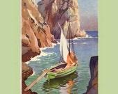 1940s Italian Postcard