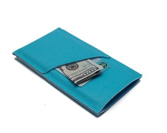 iPhone 7 Plus cover, iPhone 7 Wallet, iPhone 7 Sleeve, iPhone 6S Case, Ocean Blue - Made by weird.old.snail