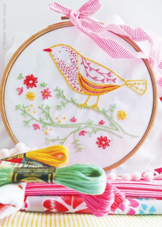 Embroidery Kit – Yellow Bird