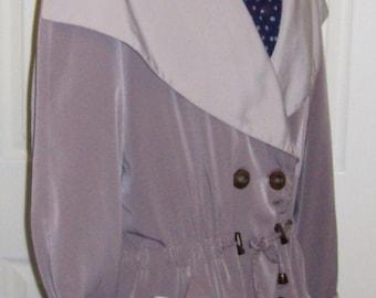 SALE 70% Off Vintage Ladies Beige & Tan Jacket by Braetan Medium Now 1.50 USD