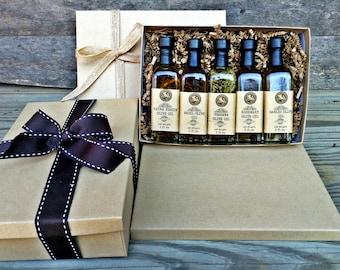 Olive Oil and Balsamic Vinegar Italian Sampler Set