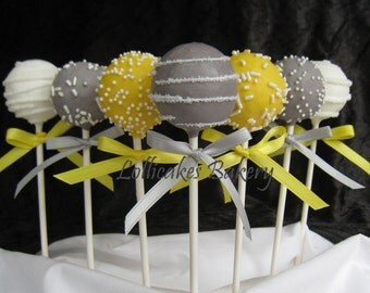 Baby Shower Favors: Premium Baby Shower Cake Pops Made to Order with High Quality Ingredients