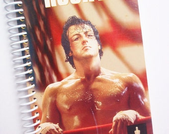 Notebook ROCKY VHS movie Journal The Italian Stallion Sylvester Stallone