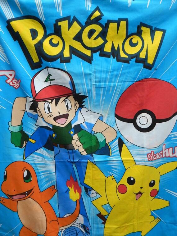 Housse de couette pokemon twin literie douillette japonais - Housse de couette pokemon 2 personnes ...
