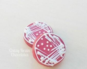 Chocolate Petri Dish Oreos (12)