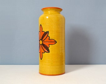 Mid Century Large Bitossi Vase Wax Decor