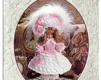 Crochet Heirloom Baby Doll Volume 2 / 1850 Southern Belle / Baby Sister Fashion doll Crochet Pattern P-015