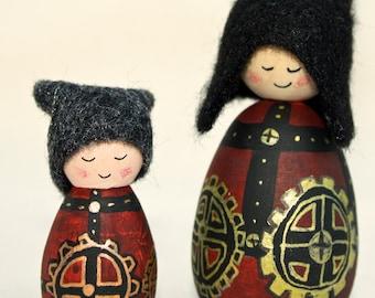 The Gears Cornish Pixie Elves
