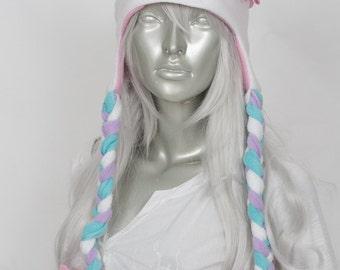 White Cat Lolita Hat