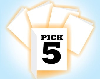 Pick 5 Cards