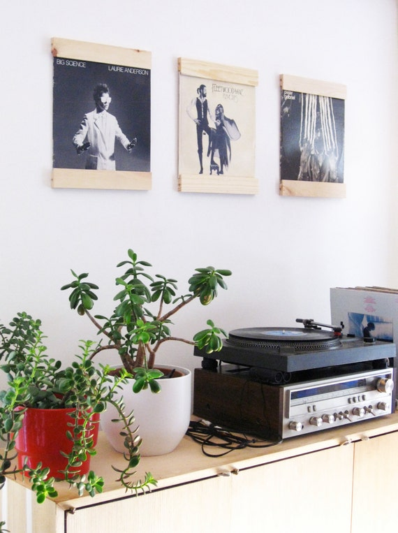 Lp Frames To Turn Your Albums Into Art Set Of 3 Salvaged