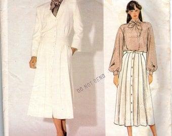 "1990s Women's Vogue Jacket, Blouse & Skirt Pattern - Size 8, Bust 31 1/2"" - Vogue American Designer Kasper, uncut"