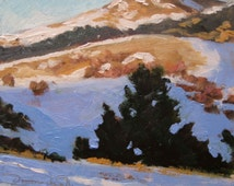 The Crest of Baldy Mountain - New Mexico - Original Oil Painting
