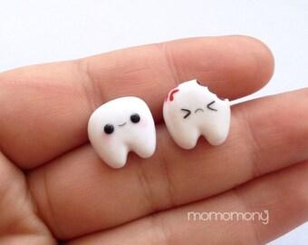 Super Cute Little Teeth Earrings