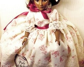 Christmas Doll African American EFFANBEE DOLL MIB Rare African American Series