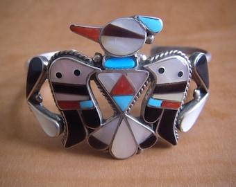 Fine Zuni Inlay Bracelet