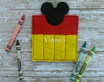 Mickey Crayon Holder / Party Favor