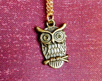 Fairytale Owl Necklace