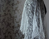 Shawl for bride -made to order in any color