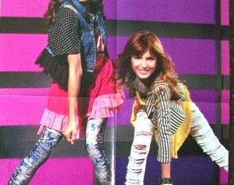 BELLA THORNE ~ Shake It Up, Love In Famous, Frienemies, My Own Worse Enemy, CeCe Jones ~ Color Poster for Scrapbooking