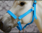 Breyer or Model Horse Slotted Ring Halter With Lead Rope- 36 Color Choices!
