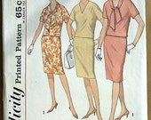 Simplicity pattern  vintage... Misses' Two-Piece Dress In Proportioned Sizes... number 2827
