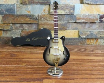 Miniature Electric Guitar Personalized (CGC18B)