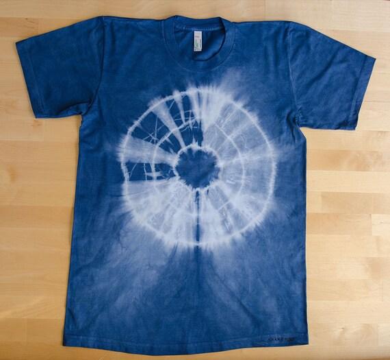 Tshirt Tie Dye Shibori Organic Cotton Good Quality Custom