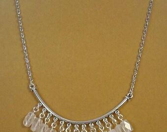 """Beautiful18"""" Rose Quartz Necklace - N279"""