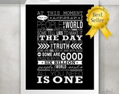 One Tree Hill Print / Inspirational Quote  / Typography Poster / Romantic Gift / Wedding Gift // 5x7 / 8x10 / 11x14