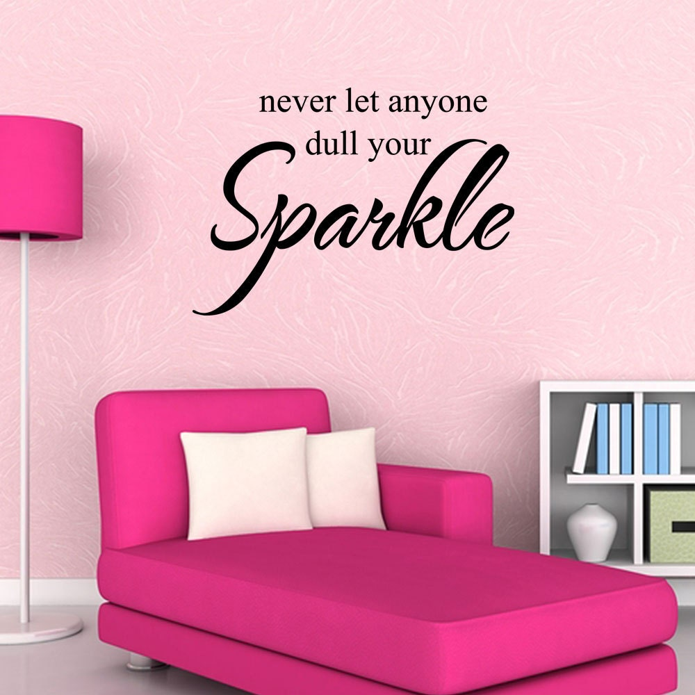 Teen Girl Wall Decal Bedroom Vinyl Wall Decal Bathroom Vinyl