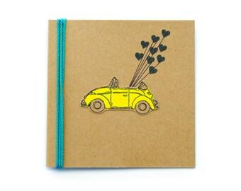 Happy Birthday: Punch Bug Card