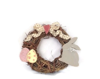 Easter Wreath - Spring Decor - Modern country