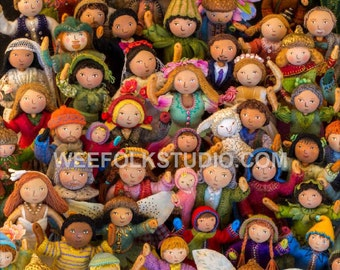 11 x 17 Poster - Felt Wee Folk: New Adventures, waving crowd